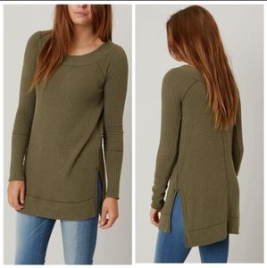 We The Free Kate Thermal Tunic Top